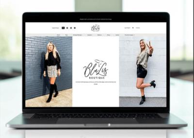 BluLis Boutique Website