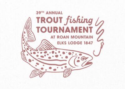 Trout Tournament Logo