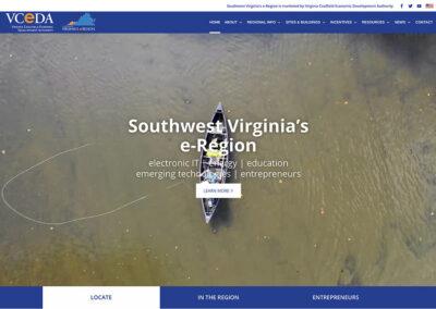 VCEDA Website Redesign